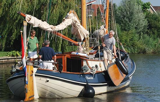 Charterschiff Blauwe Heks ab Workum